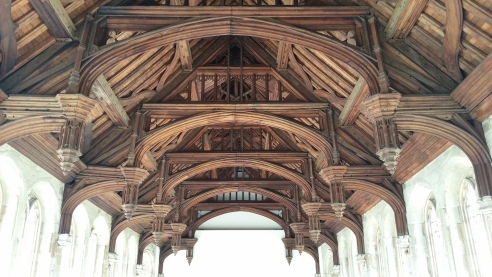 Eltham's Great Hall roof