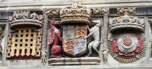 Henry VII's Coat of Arms