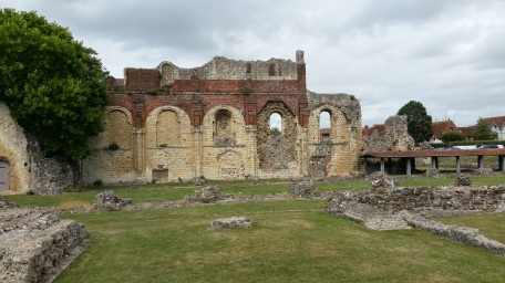 St Augustine's Abbey ruins