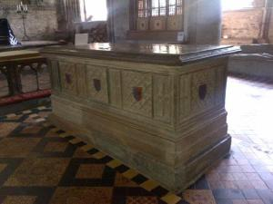 Edmund Tudor's tomb